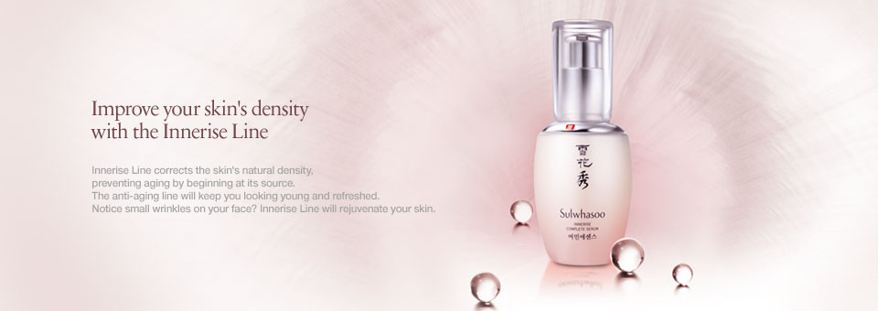 Improve your skin's density with the Innerise Line